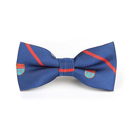 Children's Bow tie Boys Bow Tie School Kid Ties Knots Stripe Designs (Color : 14)