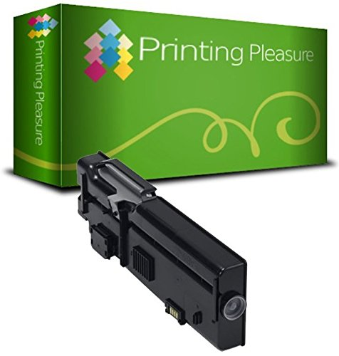 Compatible Dell C2660/C2665 Toner Cartridge for Dell C2660DN C2660DNF C2660N C2665DN C2665DNF - Black, High Yield