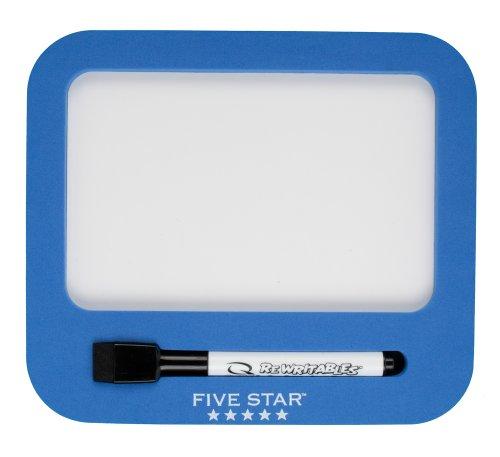 Five Star Locker Accessories, Locker Dry Erase Board, Magnetic, Cobalt Blue (72566)