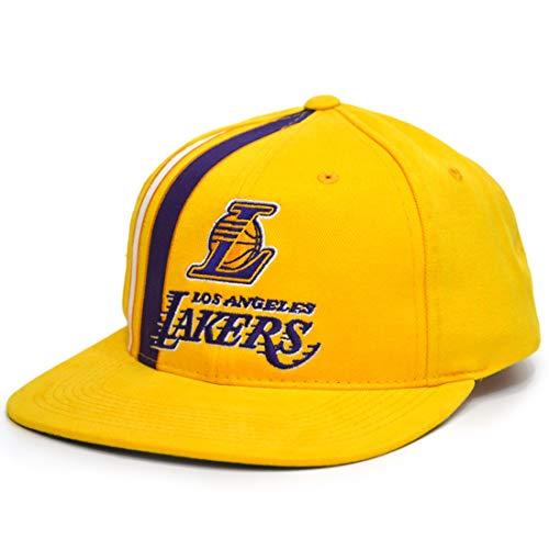 Mitchell & Ness NBA Team Stripe Deadstock Snapback LA Lakers - Gorra...