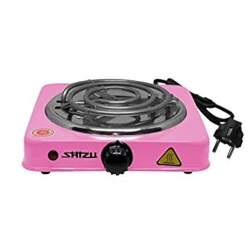 ShiZu elektrischer Kohleanzünder 1000W Pink für Shisha Kohle Naturkohle | NEU: in Farbe