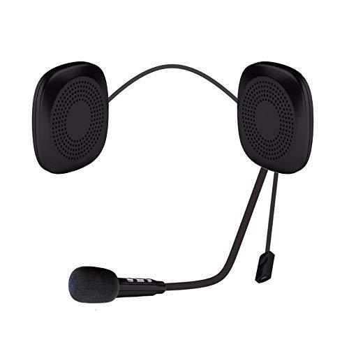 #N/V Auriculares inalámbricos para casco de moto impermeable y antiinterferencias para casco de motocicleta T2