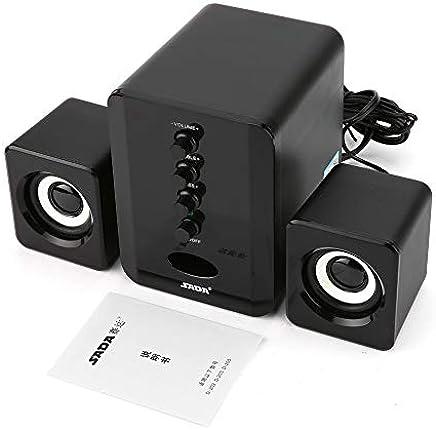 D-202 Altoparlanti combinati con Cavo USB Altoparlanti per Computer Bass Lettore Musicale Stereo Subwoofer Sound Box per PC Smart Phone - Trova i prezzi più bassi