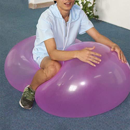 Seasaleshop Kinder Aufblasbare Wasser Sprinkler Spielzeug aufblasbarer Blasen-Ballon-Ball-lustiger Wasserball-Übungs-Spielzeug-reißfestem weicher TPR-Ball.