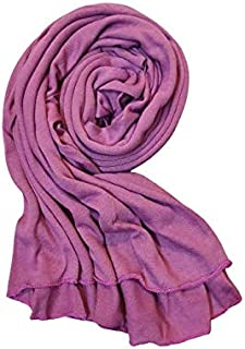 Cotton Jersey Hijab for Women Soft Long Stretchy Breathable black hijab white hijab muslim fashion Muslim Head Scarf Wrap ...