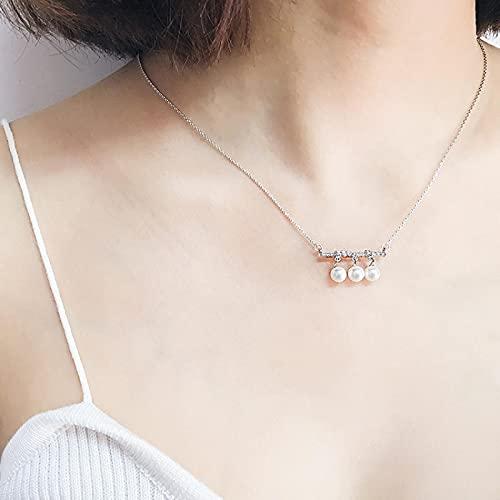 YANXIA Colgante de Collares de Concha de Decoración de Verano para Mujer, Collar de Decoración de Fiesta Simple y Bonito para Mujer