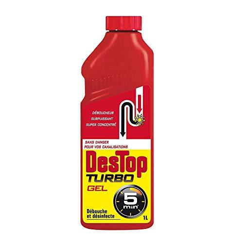 Destop - Gel déboucheur Turbo - 1 L