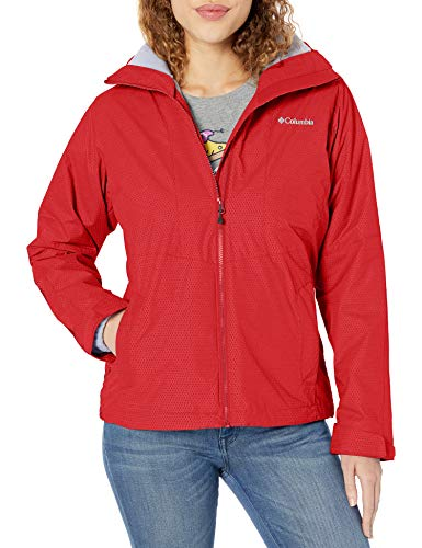 Columbia Women's Plus Size Ruby River Interchange Jacket, red Lily Sparkler Print, 1X