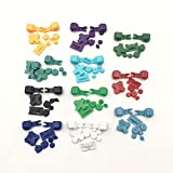 Colorful Full Buttons for Nintendo Gameboy Advance SP GBA SP Buttons Set R L A B D-Pad (B-Purple)