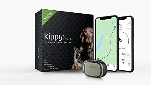 Kippy - Evo - Il Nuovo Collare GPS And Activity Monitor per Cani e Gatti, 38 gr, Impermeabile, Batteria 10 GG, Green Forest