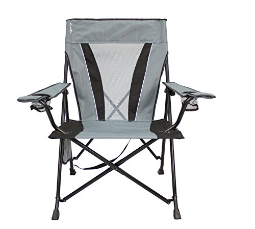 Kijaro XXL Dual Lock Portable Camping and Sports Chair, Hallet Peak