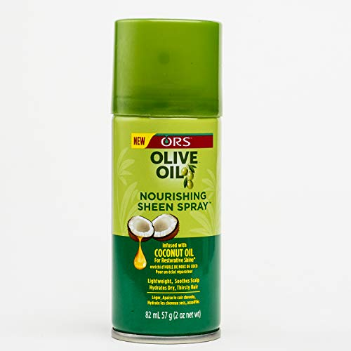 Ors Olive Oil Sheen Nourishing Spray 2.7oz by Organic Root (ORS)