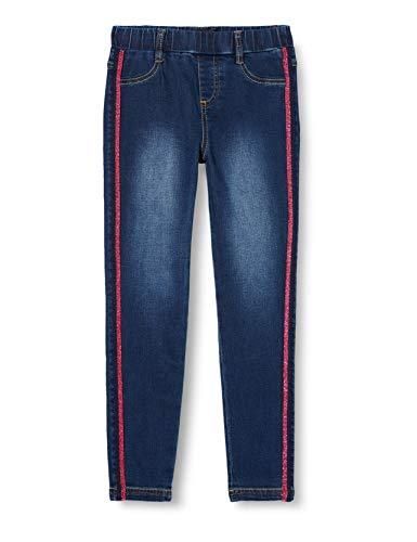 Desigual Girls Denim_Alvarez Casual Pants, Blue, 11/12