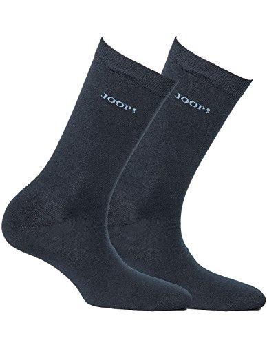 Joop! Damen Socken 2 Paar, Basic Soft Cotton Sock 2-Pack, Einfarbig - Farbwahl: Farbe: Marine   Größe: 35-38 (3-5 UK)