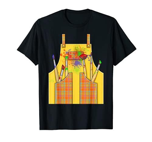 Disfraz De Artista Halloween Camiseta