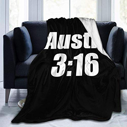 BXBX Austin 3 16 Throw Blanket Ultra Soft Flannel Fleece All Season Light Weight Living Room/Bedroom Warm Blanket