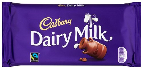 Cadbury Dairy Milk Chocolate Bar 200 g (Pack of 7)