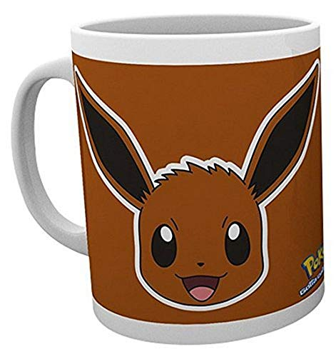 GB Eye LTD, Pokemon, Eevee Face, Taza