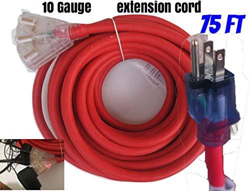 10 gauge extension cord 100 ft - 2