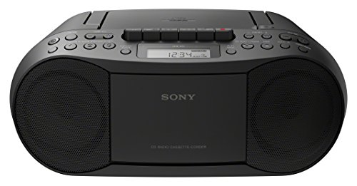 Sony CFDS70B.CEK Classic CD and Tape Boombox with Radio - Black
