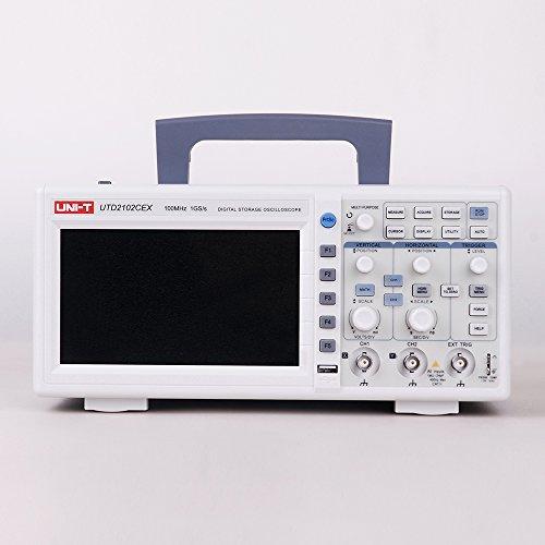 UNI-T UTD2102CEX 100MHz Digital-Speicher-Oszilloskop 17,8cm (7 Zoll) LCD 1GS/S, 2Kanäle