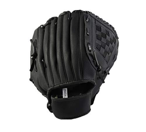 CZ-XING Outdoor-Baseball-Handschuh Sport Schlaghandschuhe Baseball-Handschuh Erwachsene/Teenager Wild Baseball Handschuhe Softball Handschuhe Mehrfarbig (Schwarz, S)