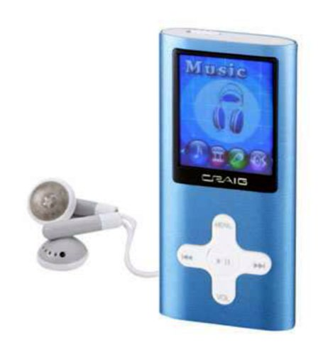 craig electronics mp4 players Craig Electronics 4GB MP3 Plus Video Player With 1.8-Inch Color Display