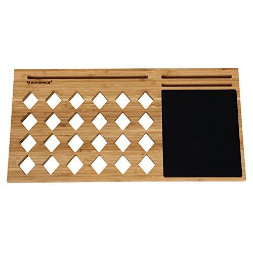 SONGMICS Soporte de bambú para...