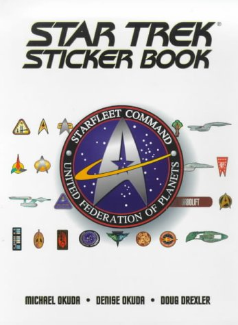 The Star Trek Sticker Book