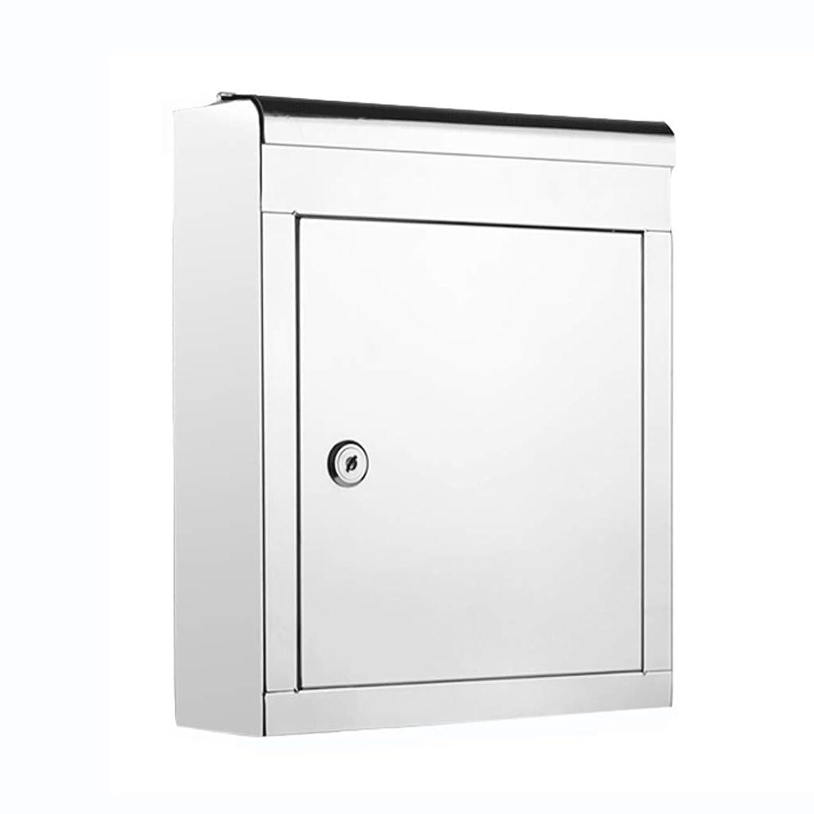 豚抑制するゴミメールボックスステンレス鋼の提案箱提案箱レターボックス屋外防水チケットボックスマガジンボックスA4封筒ボックス