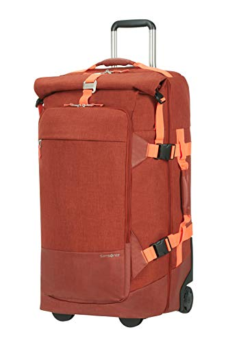Samsonite Ziproll - Travel Duffle with 2 Wheels L, 75 cm, 93 Litre, Orange (Burnt Orage) - 3.20 kg