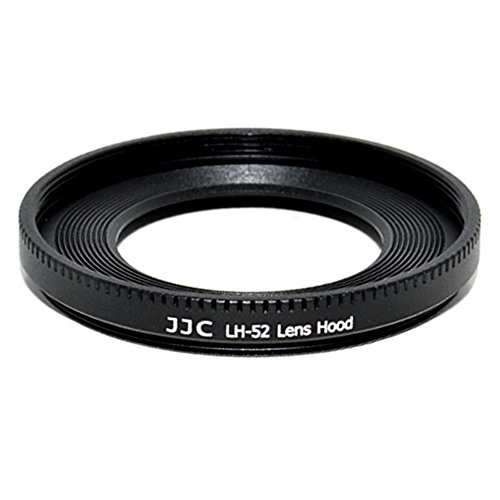 JJC LH-52 Metal Lens Hood Shade for Canon EF 40mm EF f/2.8 STM Pancake 52mm Replaces Canon ES-52