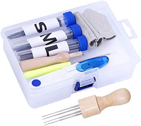 Mayboos 72 Pcs Needle Felting Kit Needle Felting Needles 8 Needle Felting Tool Holder Needle product image