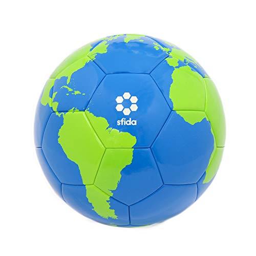 sfida(スフィーダ) 地球柄サッカーボール4号球 北澤豪監修 小学生用 子供用 練習用 試合球 地球 BO-GL01 ネイビー