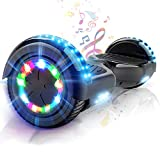 COLORWAY Electric Scooter Smart Self-Balance Off-Road 6.5 Inch with Bluetooth- Flash Wheel EU