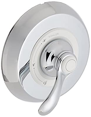 Kohler TS12021-4-CP Fairfax Rite-Temp Valve Trim with Lever Handle (New Model)