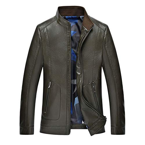 Mannen blazer winkel slim fit lederen jas Plus size waterdichte trenchcoat top mannen buiten motorfiets gelegenheid overcoat