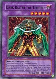 Yu-Gi-Oh! - Dark Balter the Terrible (LOD-002) - Legacy of Darkness - Unlimited Edition - Super Rare