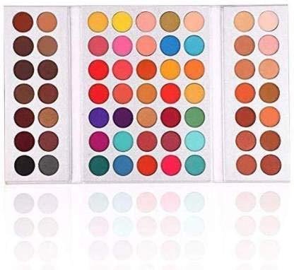 URBANMAC 63 Colors EyeShadow Palette Powder Profession Gorgeous Me Cosmetics Perfect Color Eye Shadow Tray