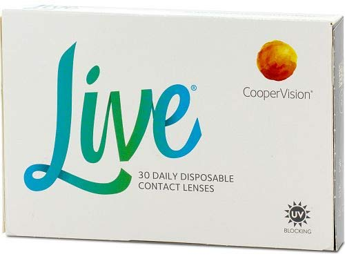 Live daily disposable Tageslinsen weich, 30 Stück/BC 8.6 mm/DIA 14.0 mm / -2 Dioptrien