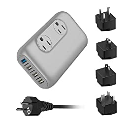 travel charger and an adapter, universal travel charger and adapter