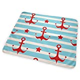 Zcfhike Changing Pad Maritime Mood Pattern Portable Diaper Changing Pad - for Baby Showers Changing Mats and Reusable Detachable Wipe Able Mat- Unisex