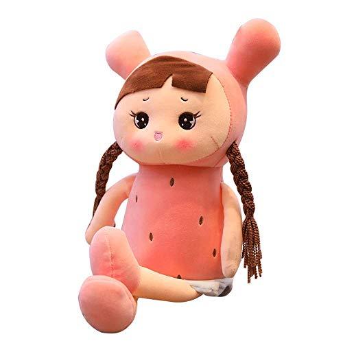 ZY Los Juguetes de Peluche - 35cm muñecas de Peluche Niña con coletas y Trenzas for el Regalo de la Muchacha Adorable Ultra LOLDF1