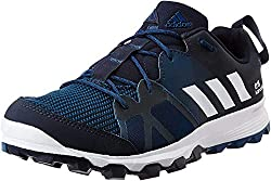 adidas Men's Kanadia 8 Tr M sports shoe, black / orange / yellow, 42 2/3 EU