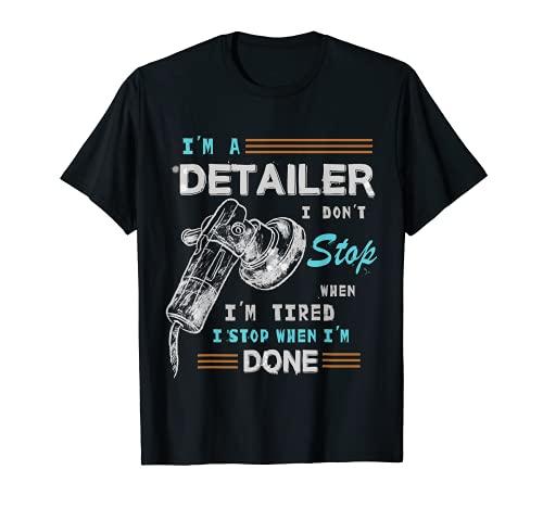 AUTO DETAILER SHIRT | Car Detailing TShirt | Idea