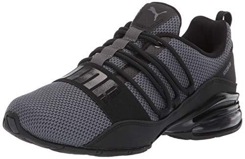 PUMA mens Cell Regulate Woven Sneaker, Asphalt Black, 11.5 US