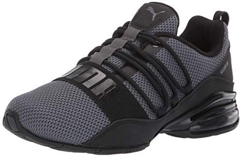 PUMA mens Cell Regulate Woven Sneaker, Asphalt Black, 11.5...
