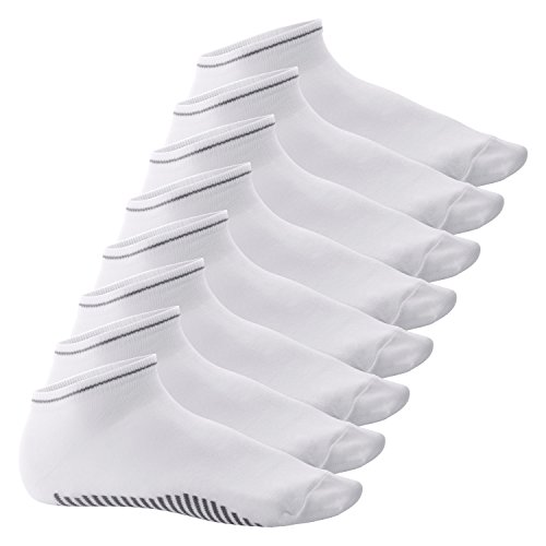 Celodoro 8 Paar Sneaker Socken Smart Walk weiss - 43-46