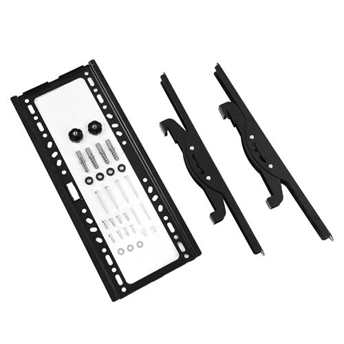 Techo de techo de TV, se adapta a televisores de 26 a 55 pulgadas antes de comprar, confirma tus dimensiones de TV con soporte de hardware de montaje para el hogar