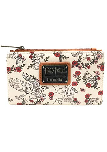 Loungefly x Harry Potter Floral Flap Wallet